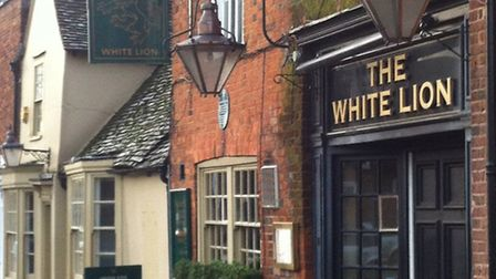 The historic White Lion pub in Stevenage High Street may soon have a new name