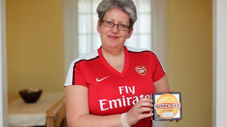 Lisa Miller has won a national pie competition