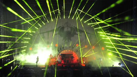 The Prodigy headlining Sonisphere Festival 2014 at Knebworth House [Picture: PG Brunelli]