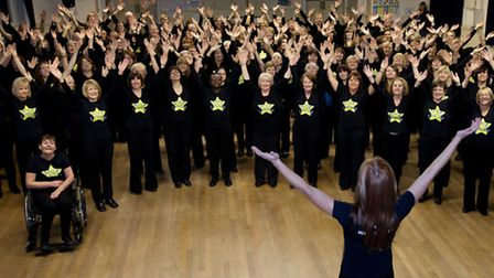You can book a free Rock Choir taster session