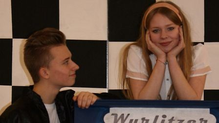 Young Arcadians present Grease: Sam Barrett as Danny and Jess Smith as Sandy