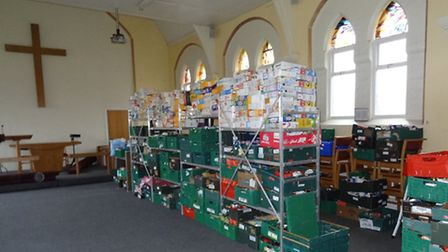 Uttlesford Foodbank has found a new home in the Methodist Church on Castle Street, after it was aske