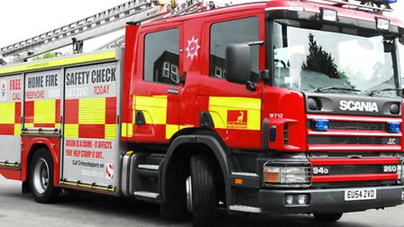 Crews were called to Stevenage and Letchworth overnight to deal with two fires.