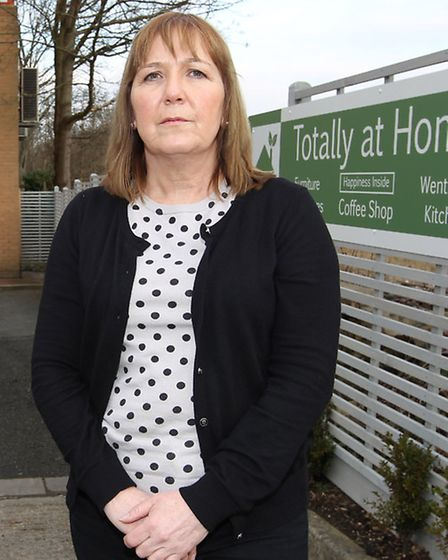 Owner of Totally At Home cafe Elaine Hargreaves who administered first aid to a young boy who was in
