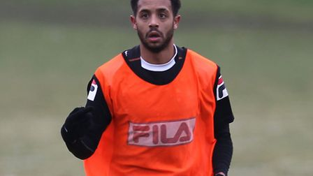 Bruno Andrade started for Boro on his return to the club.