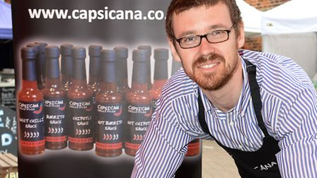Owner and founder Capsican Chilli Co Ltd, Ben Jackson