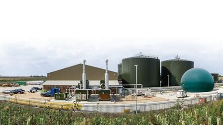 The Bygrave Lodge anaerobic digestion plant is now open for business.