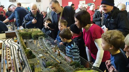 The annual Saffron Walden Model Railway Exhibition took place this year at the United Reformed Churc