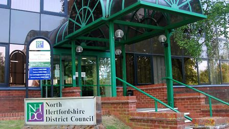 Churchgate was discussed at North Herts District Council's offices in Letchworth.