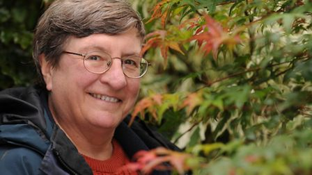 St Clare patron Christine Walkden will be sharing anecdotes from her green-fingered career on Friday