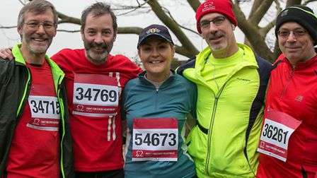 Action from the British Heart Foundation run at Knebworth House