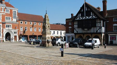 Markets held at Saffron Walden Market Square (above) will now have byelaws regulating trade.