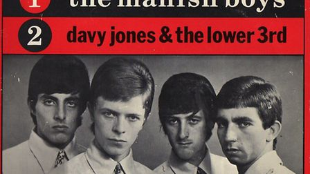 David Bowie and the Lower Third from the 1960s