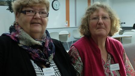 Mary Mitchell and Rose Hamilton both act as host families in Stevenage for people with mental health