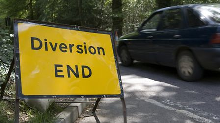 Diversions will be in place as roads close in Ashdon over the next week.