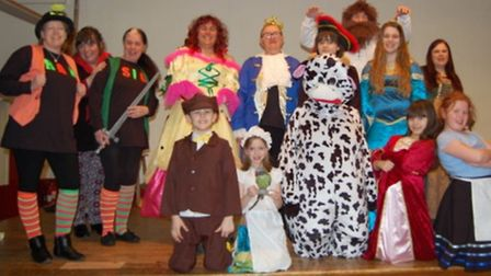 Jack and the Beanstalk production by Hasbeane Players.