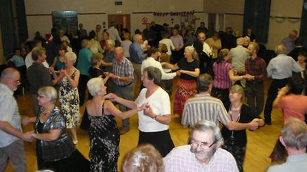 American Square dancing comes to St Ippolyts.