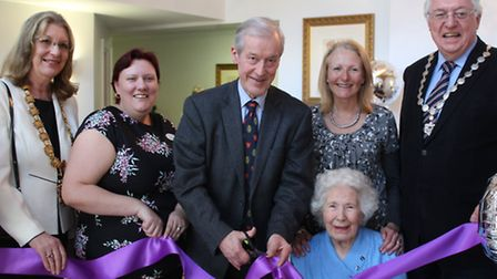 Sir Alan Haselhurst, Member of Parliament for Saffron Walden, opened the new reception and rooms at