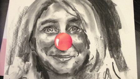 Emma Kennedy is ready for her marathon Red Nose fundraiser!