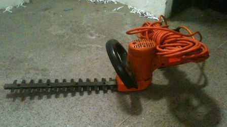 This strimmer has been recovered and is believed to have been stolen from sheds in Baldock.