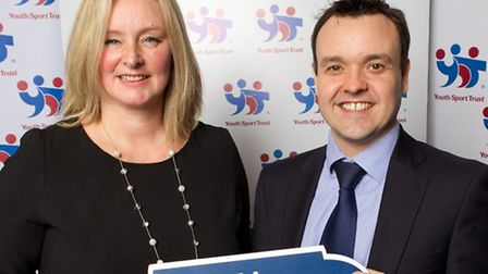 Stephen McPartland, Member of Parliament for Stevenage, was pleased to welcome Tina Jarman, Headteac