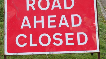Spring Road in Letchworth has been temporarily closed due to storm damage.
