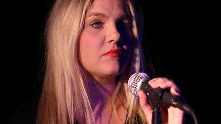 Carrie Laurence appears at the Market Theatre in Hitchin