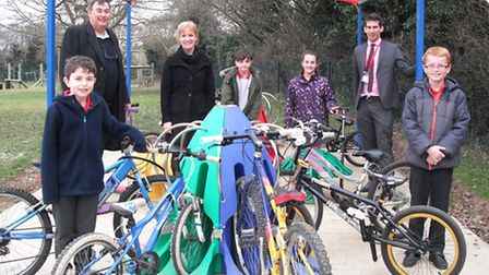 Students at St Thomas More in Letchworth have caught the cycling bug after the school unveiled a fan