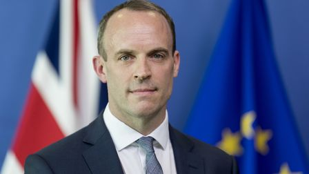 Dominic Raab. (Photo by Thierry Monasse/Getty Images)