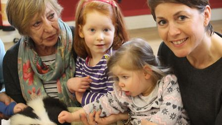 Children at Saffron Walden Opportunity Playgroup were entertained with skunks, meerkats and snakes o