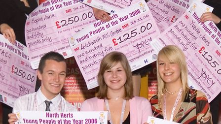 The Yopey winners from the first awards in 2006