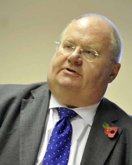 MP Eric Pickles has criticised Conservative-run North Herts District Council