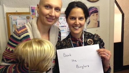 Jasmin Gupta and Cancer Hair Care launched the Beat The Burglars bad hair day selfie campaign after