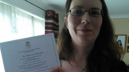 Catherine Lofthouse will be at Leicester Cathedral for the Richard III ceremony