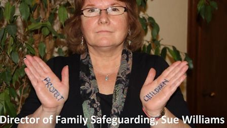 Director of family safe guarding Sue Williams