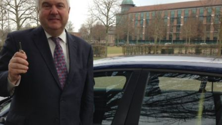 Sir Oliver Heald puts Department of Health estimates to the test as he tries to drive to Mount Verno