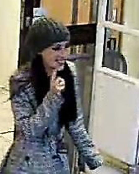 Police would like to speak to this woman.
