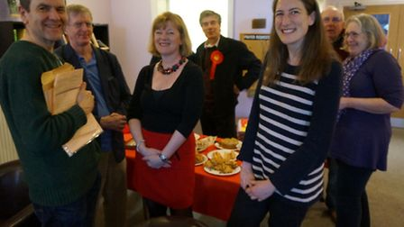 Labour marked the start of the general election campaign in the Saffron Walden constituency with a c
