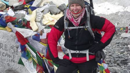Jo Bradshaw, 44, is attempting to be the first British woman to climb both Everest and Lhotse in one