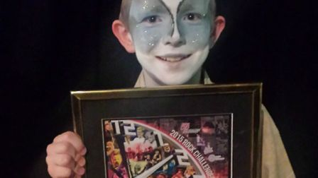 Harry Welham was among the individual winners in Rock Challenge at the Gordon Craig Theatre.