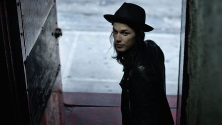 James Bay's debut album, The Chaos And The Calm, went straight in at number one.