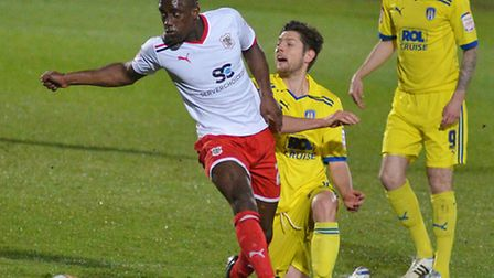 Jordan Slew, during his loan spell with Boro