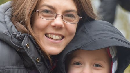 Mum Paula Holm is running the London Marathon for Great Ormond Street Hospital after staff helped sa