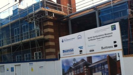 How Hitchin Town Hall will look when completed.