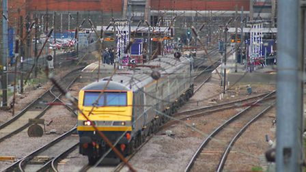 Trains are being delayed between London King's Cross and Stevenage.