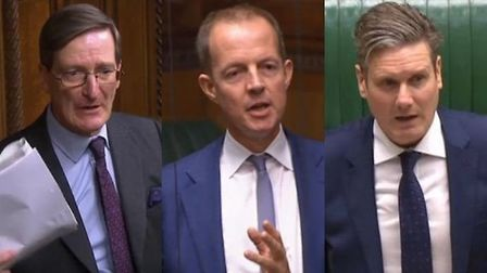 Dominic Grieve, Nick Boles, and Sir Keir Starmer also received threats. Photograph: House of Commons