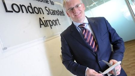 Andrew Harrison, managing director at Stansted Airport