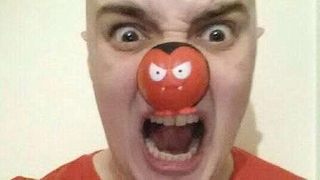 Stand up comedy for Comic Relief at Mulberry Tree, Stevenage