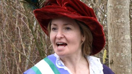Emma Spearing as Lady Constance Lytton