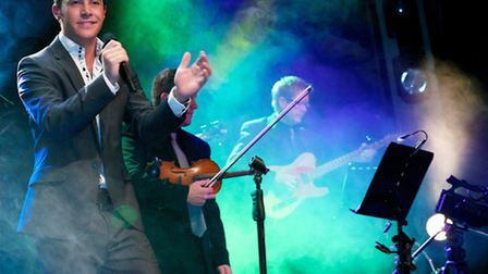 Nathan Carter appears at the Gordon Craig Theatre